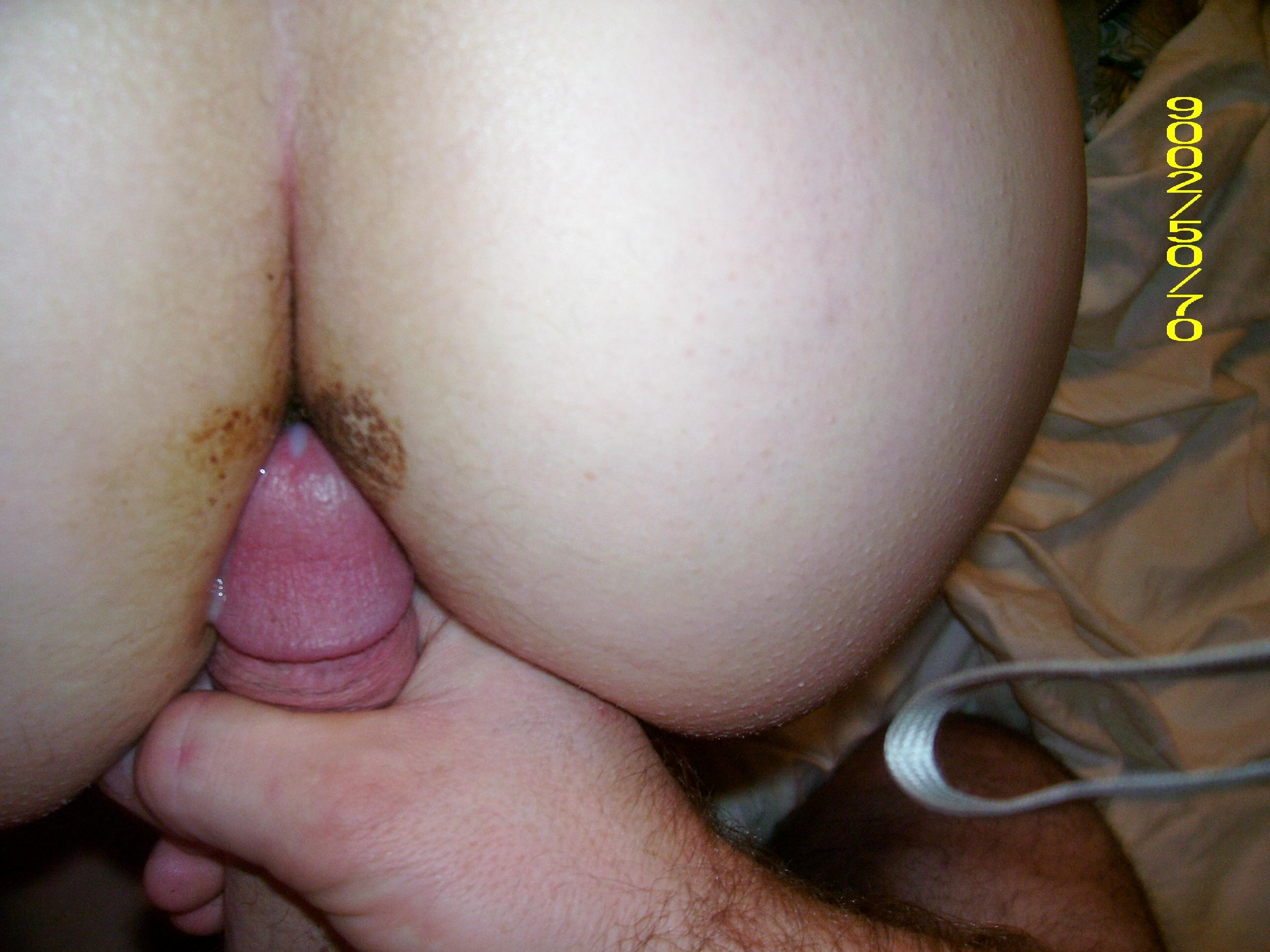 Anal amateur shit xxx something is