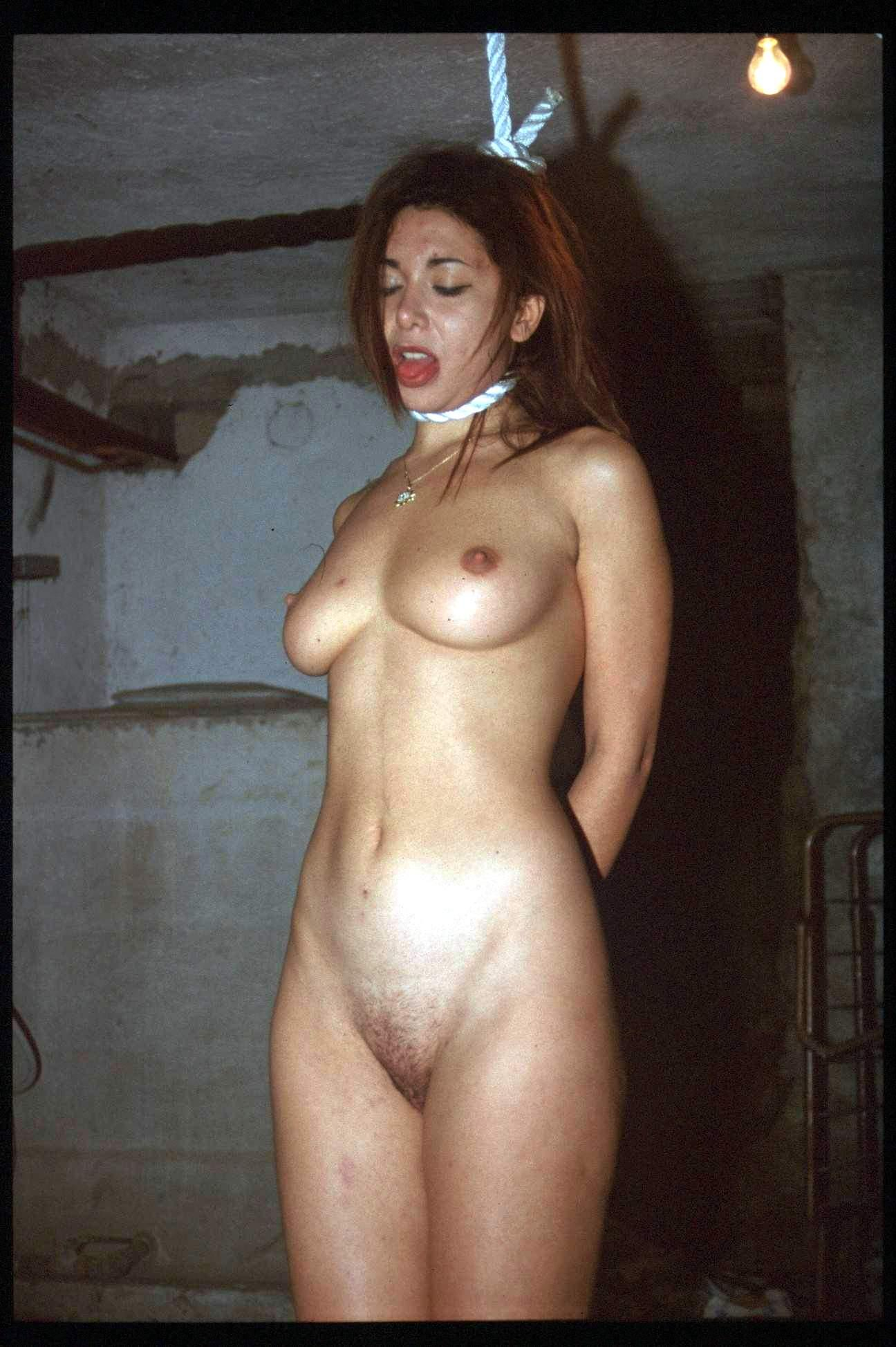The bdsm neck hanged fart lucky