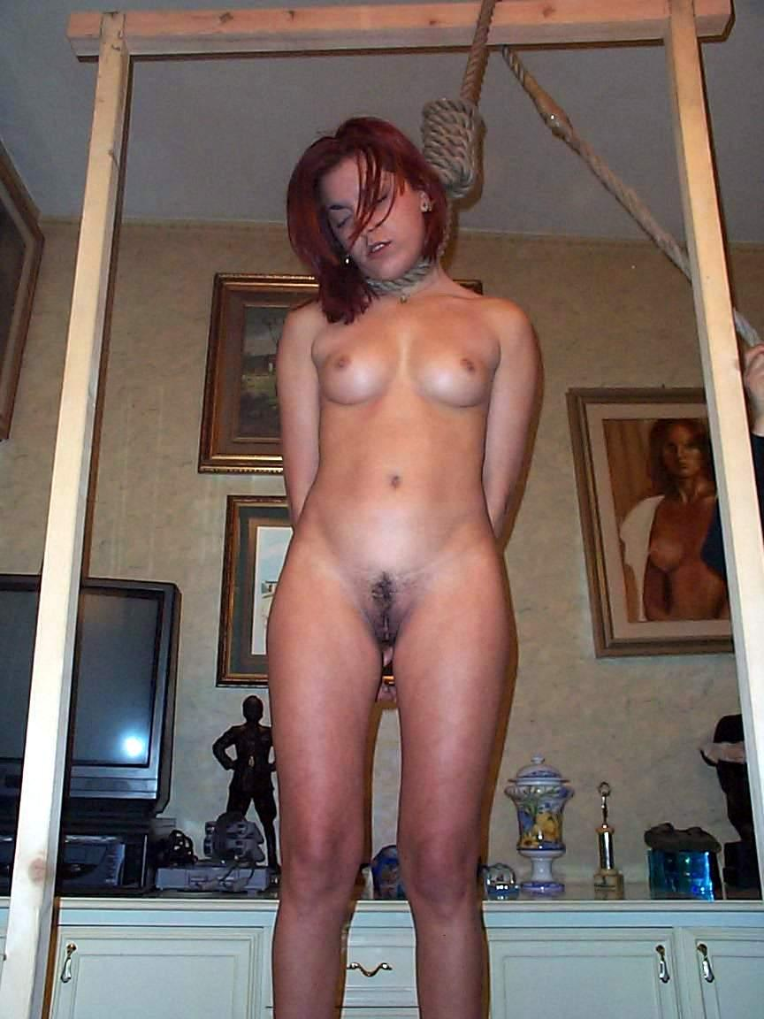 Hanging Naked chick