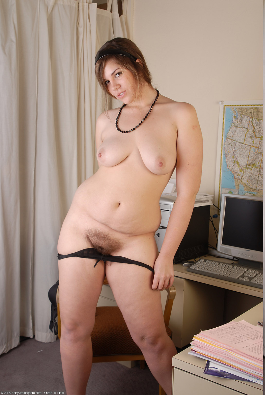 Something Hairy fat women naked consider