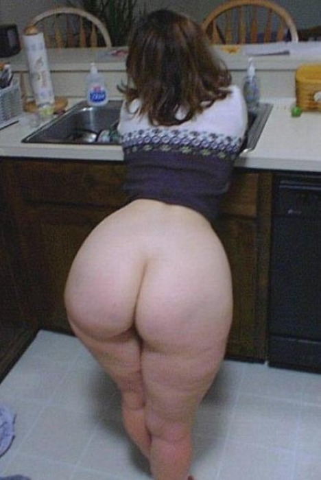 Sexy hip pawg nude from behind
