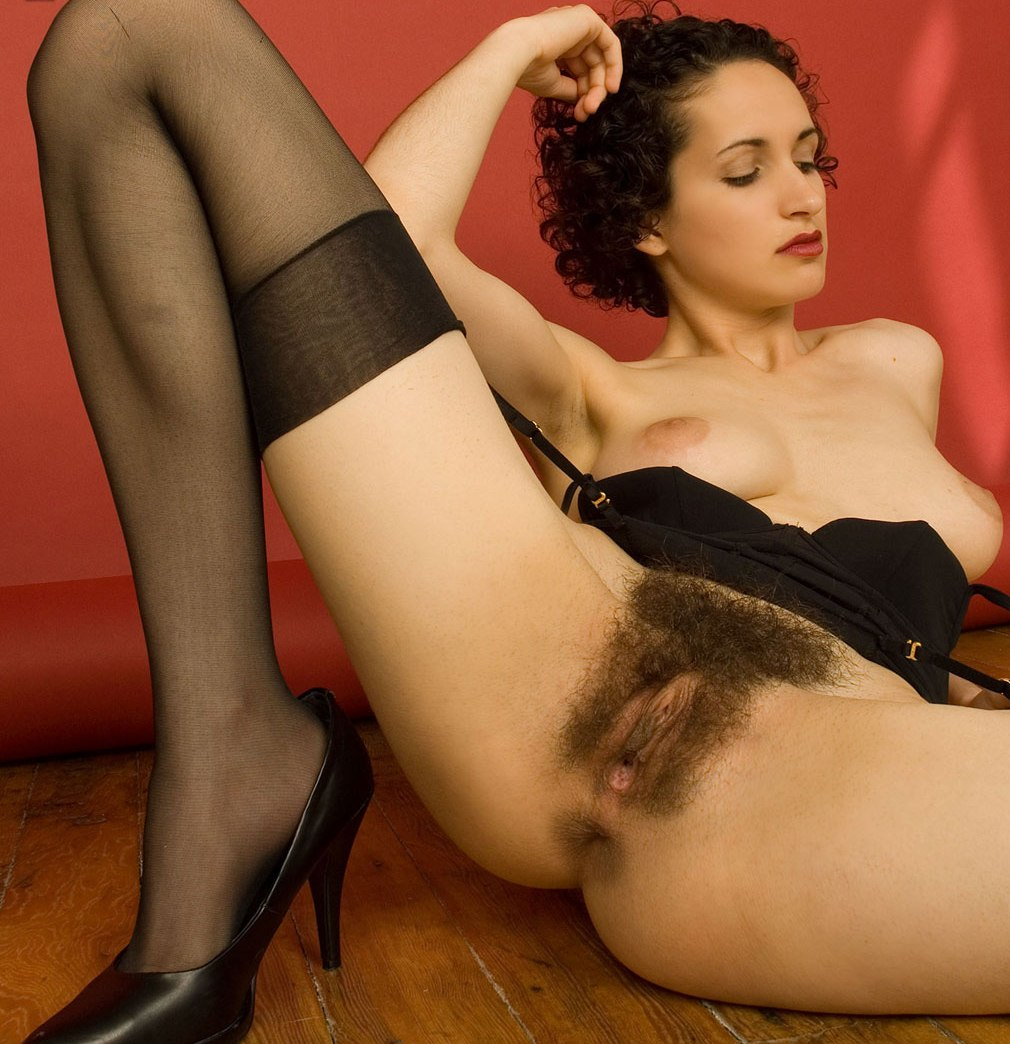 Hairy European Babes Show Pussy Porn Pics