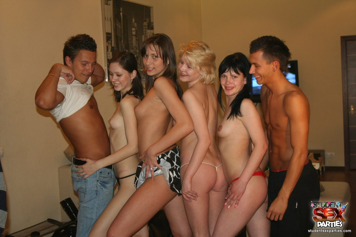 Thought Nude student sex party those