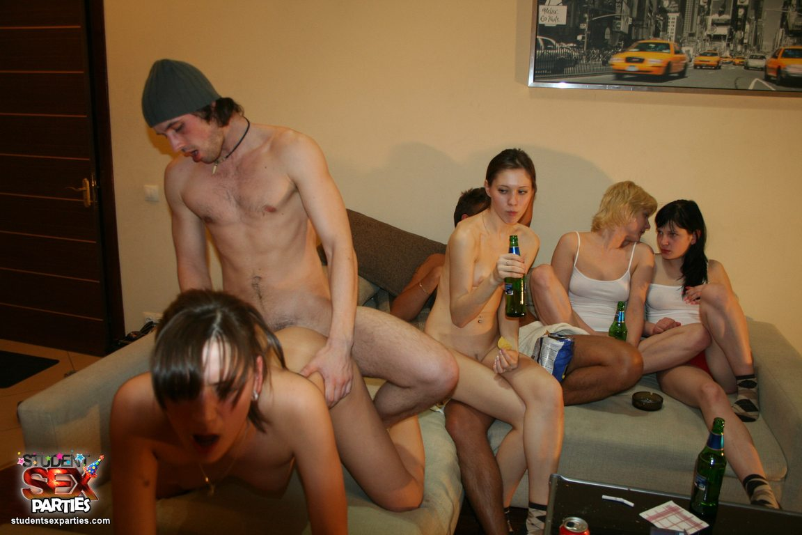Wild student sex friends party on friday 13th scene 3 9