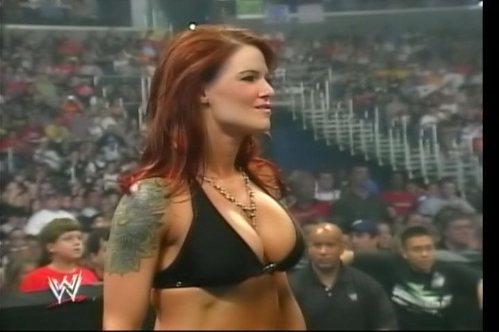 Entertaining answer Boob diva lita wwe