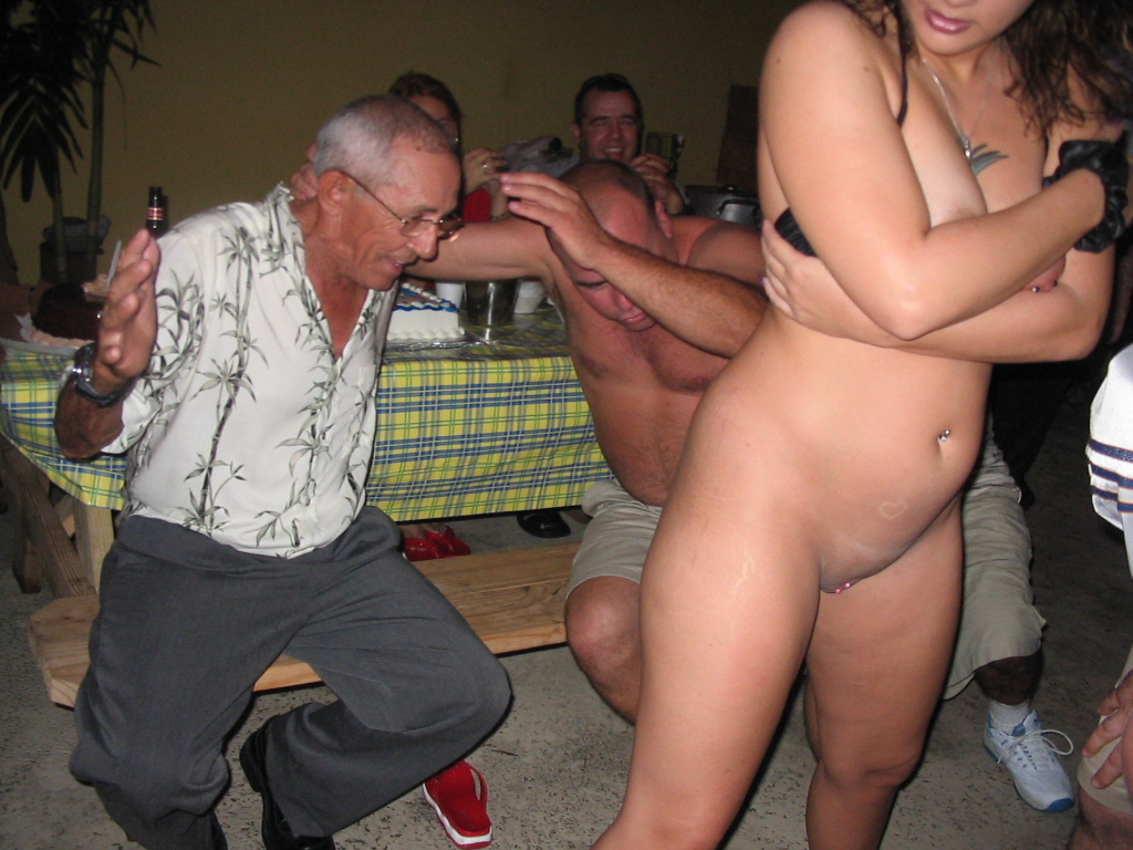 Slut wife pics with strippers