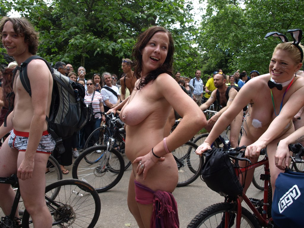 Women naked on bicycle videos