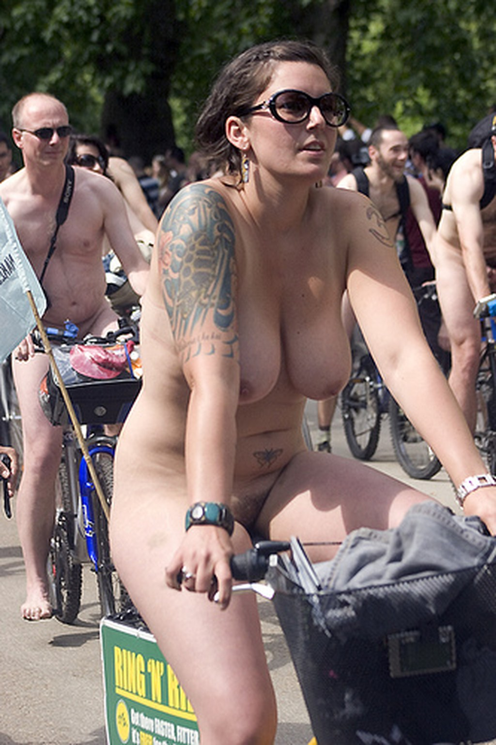Really. happens. Hot nude women world naked bike ride you