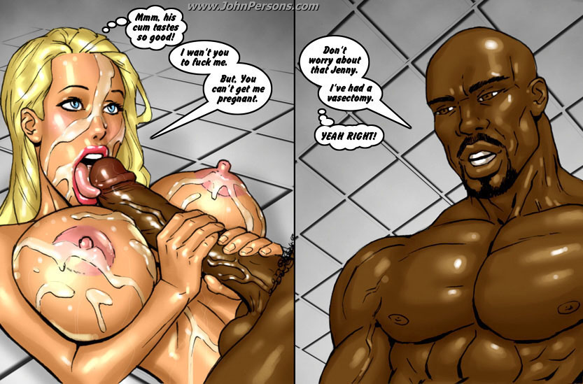 Two hot blondes bet on big black cock