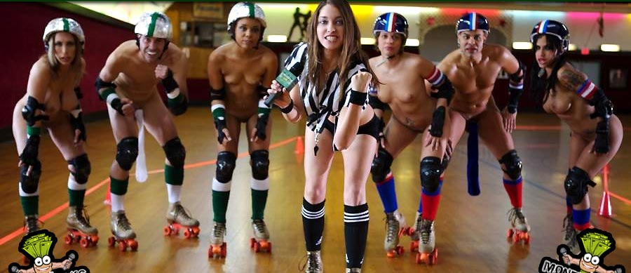 Nude male roller derby, homemade interracial wild sex