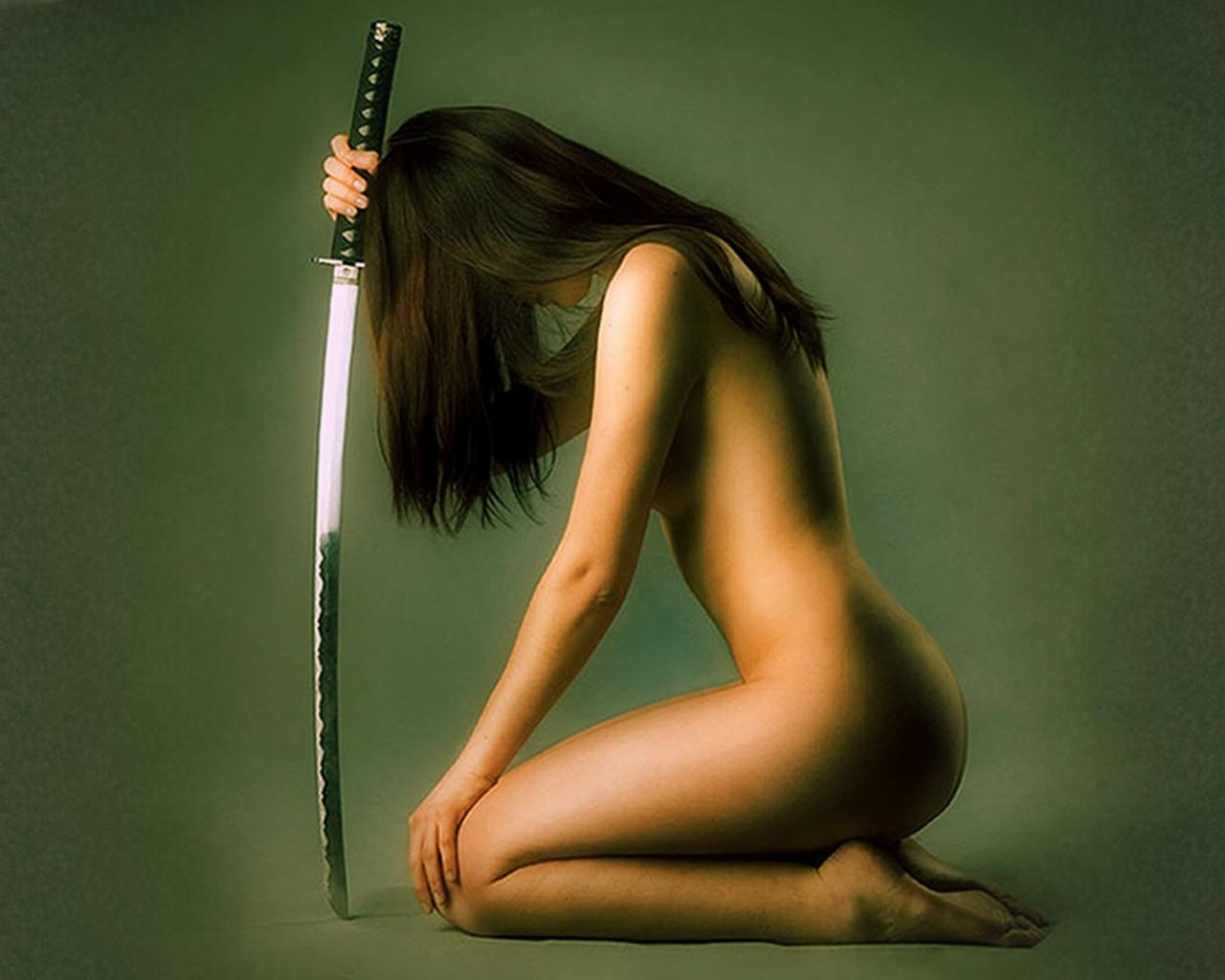 Green naked ninja girls erotica picture