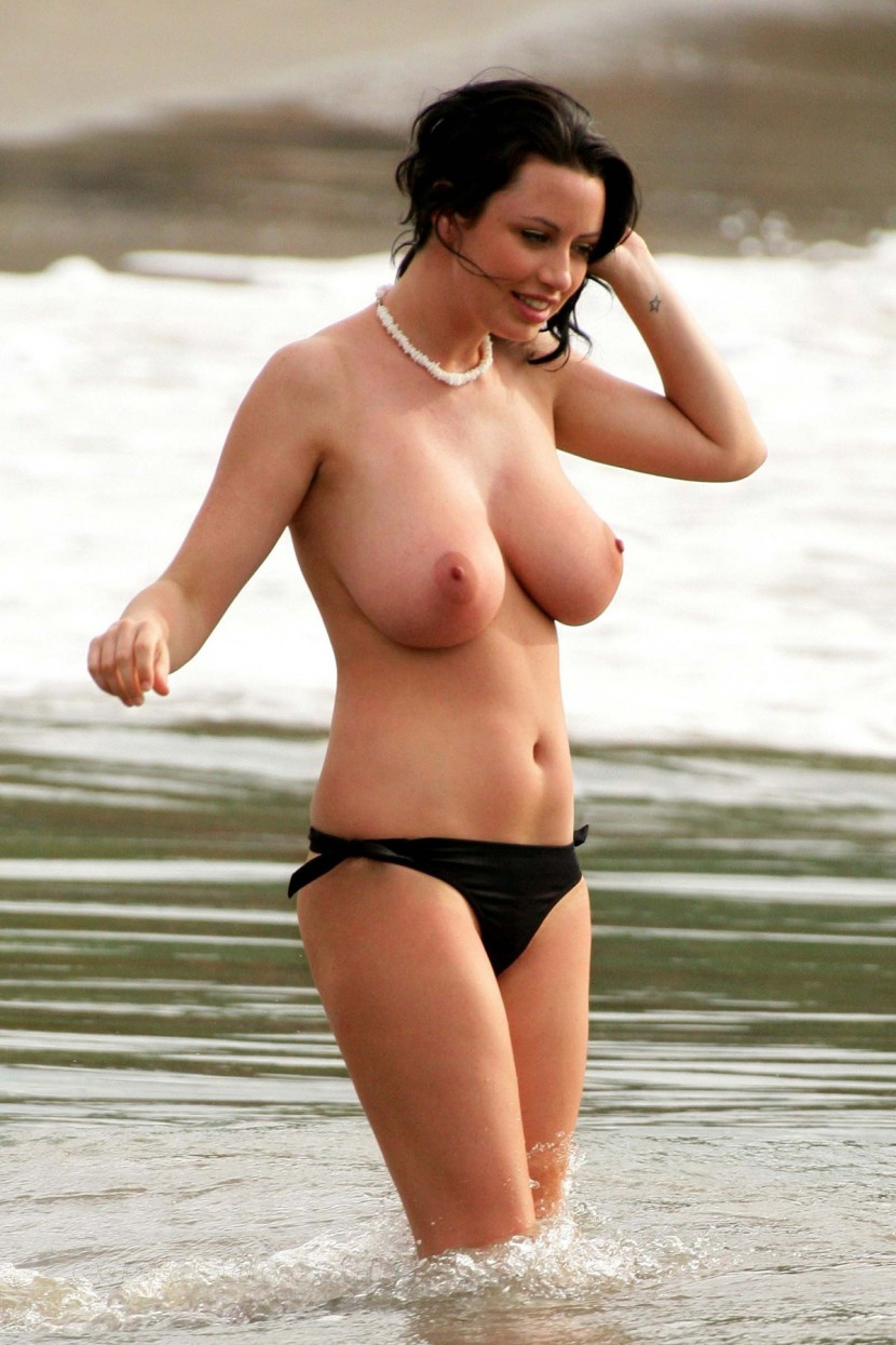 Beach sophie howard topless