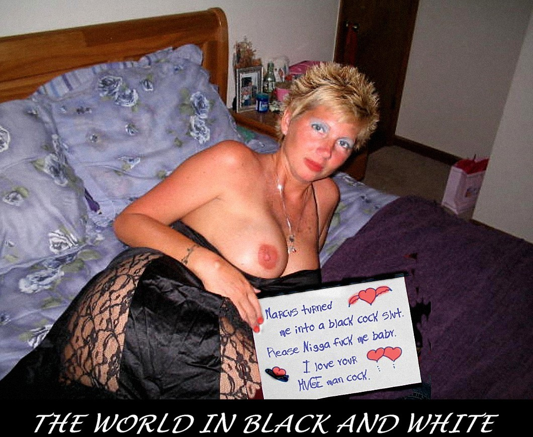 Not Nigger fuck white girl not