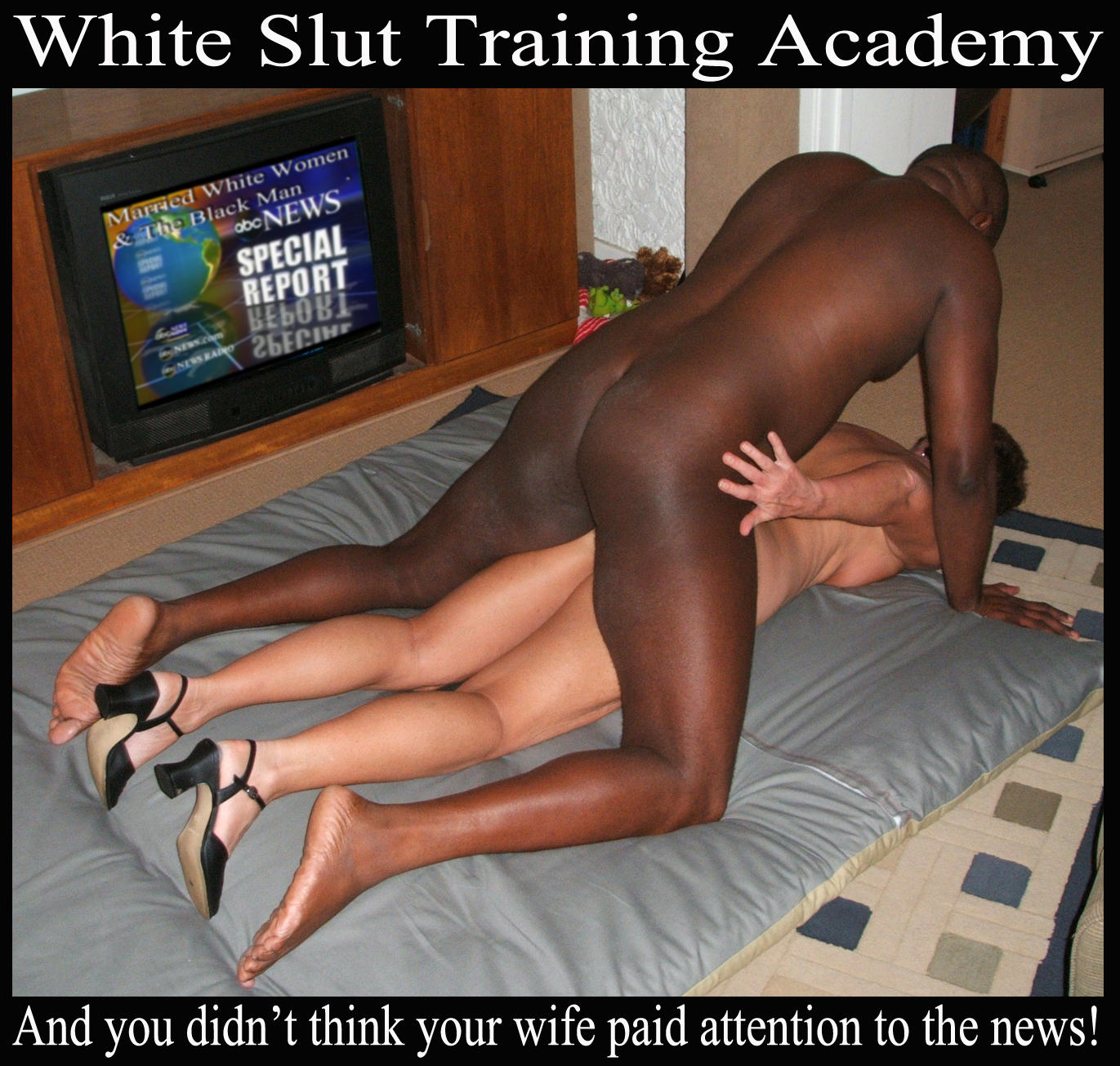 Interracial whiye wife breeders
