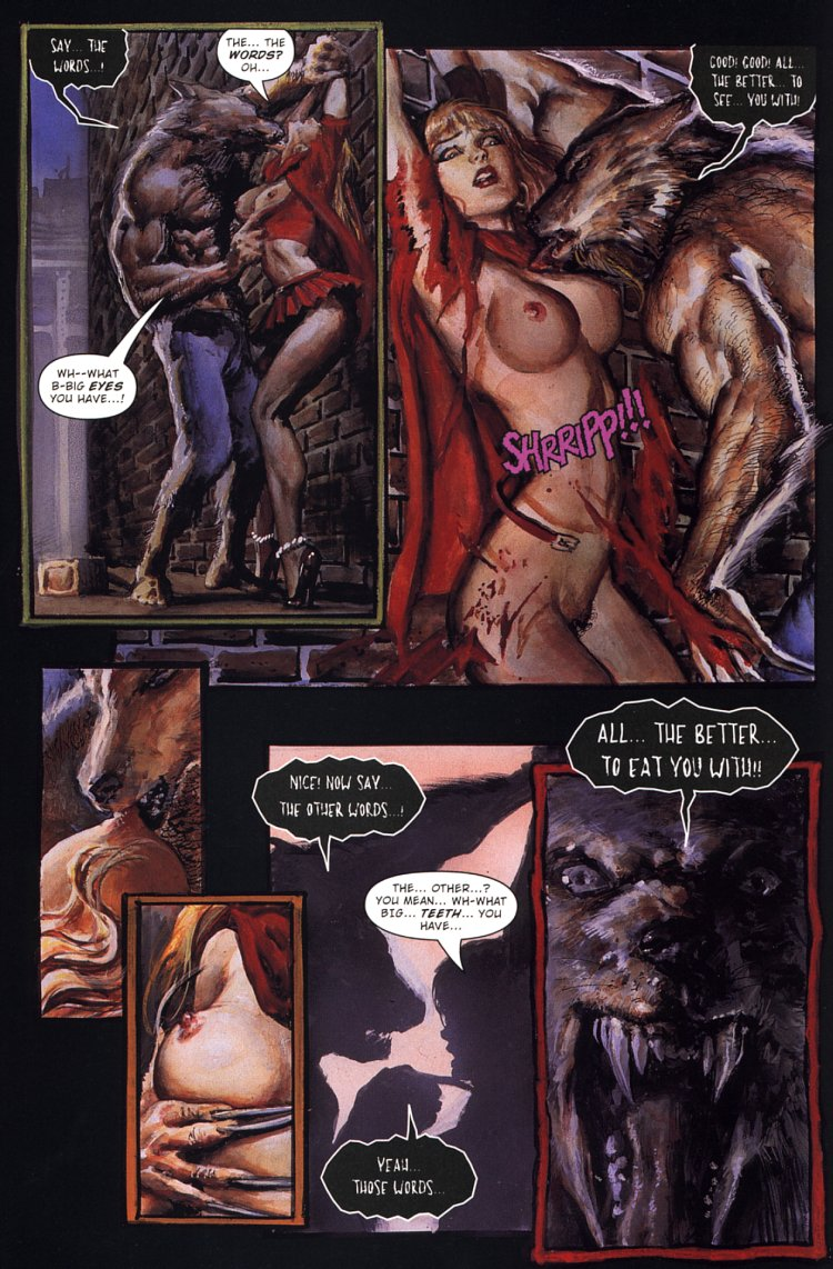 Phrase Red riding hood porn comics manage somehow