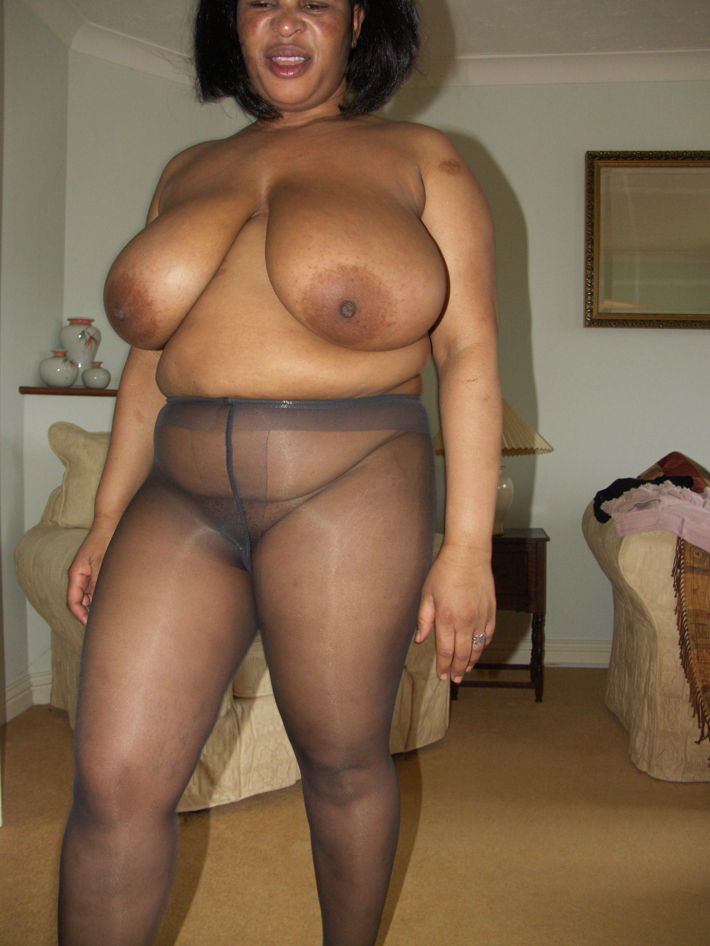 Big ass mature amateur black bbw
