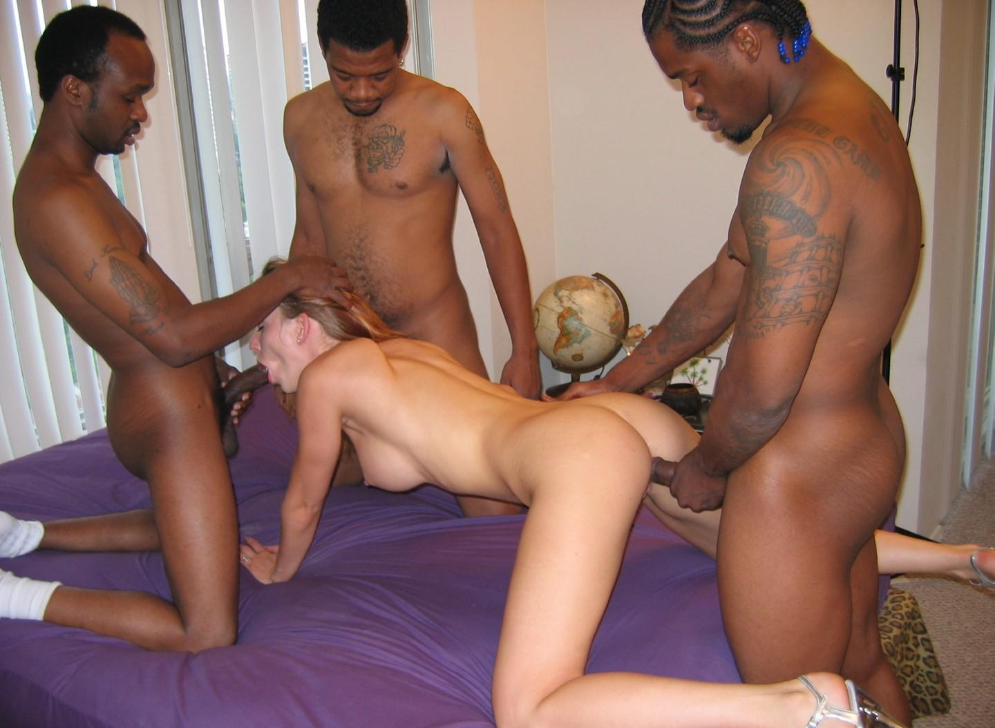 Amateur Interracial White Dick