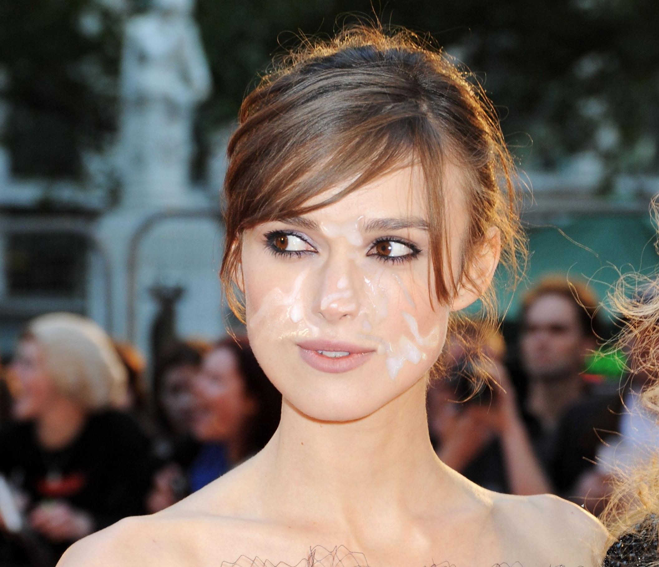 Are not Keira knightley cum shot absolutely agree