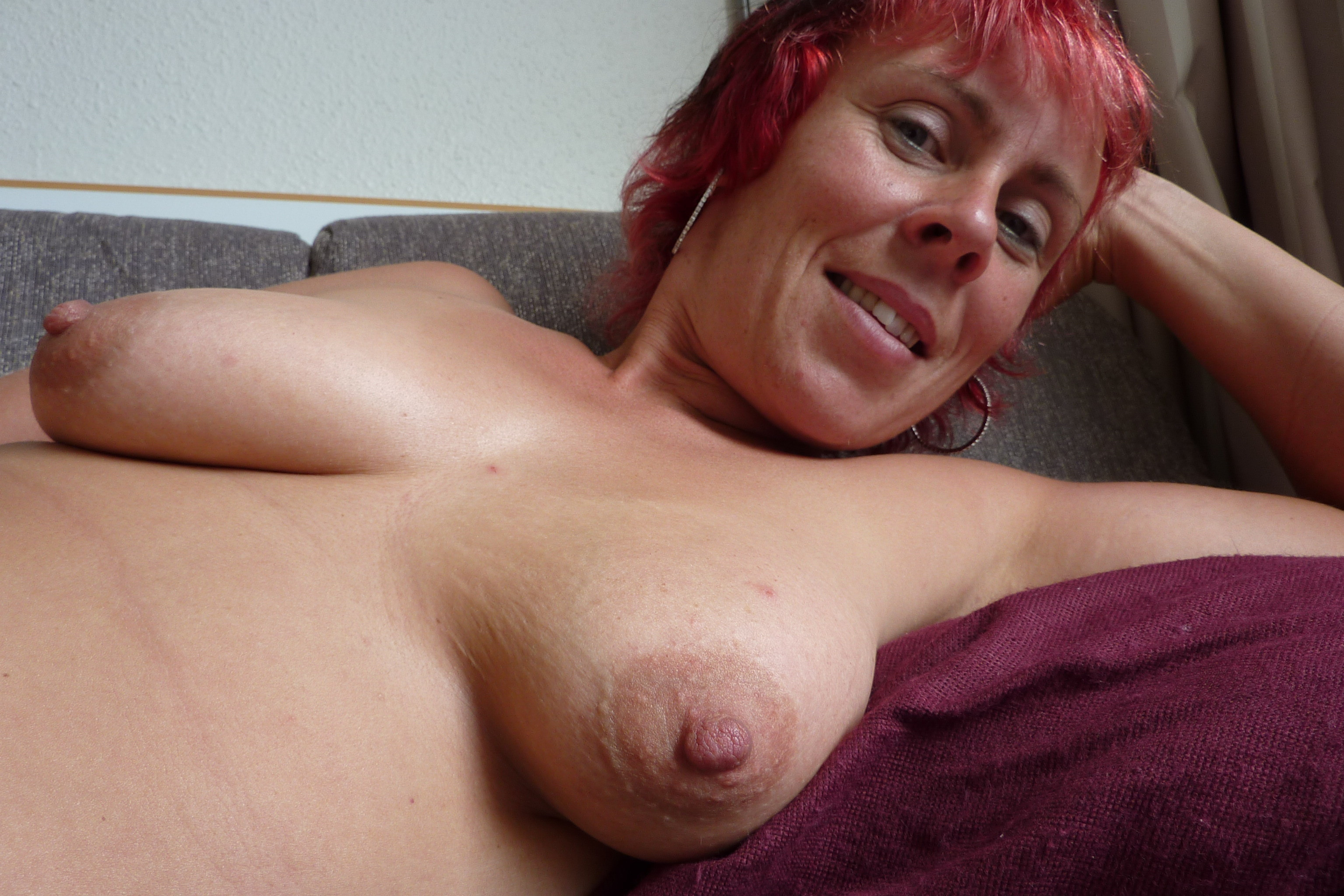 Big breasts mature