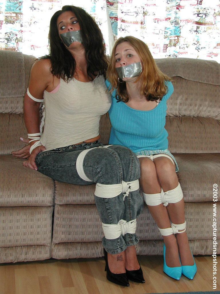 Mothers and daughters in bondage together