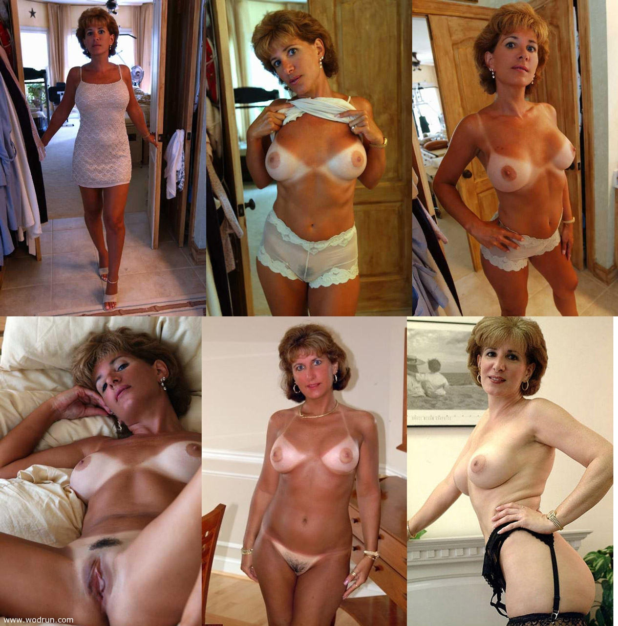 Dressed undressed sexy wife