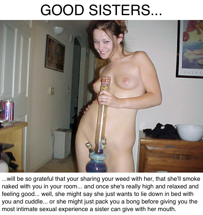 Sister incest caption nude brother