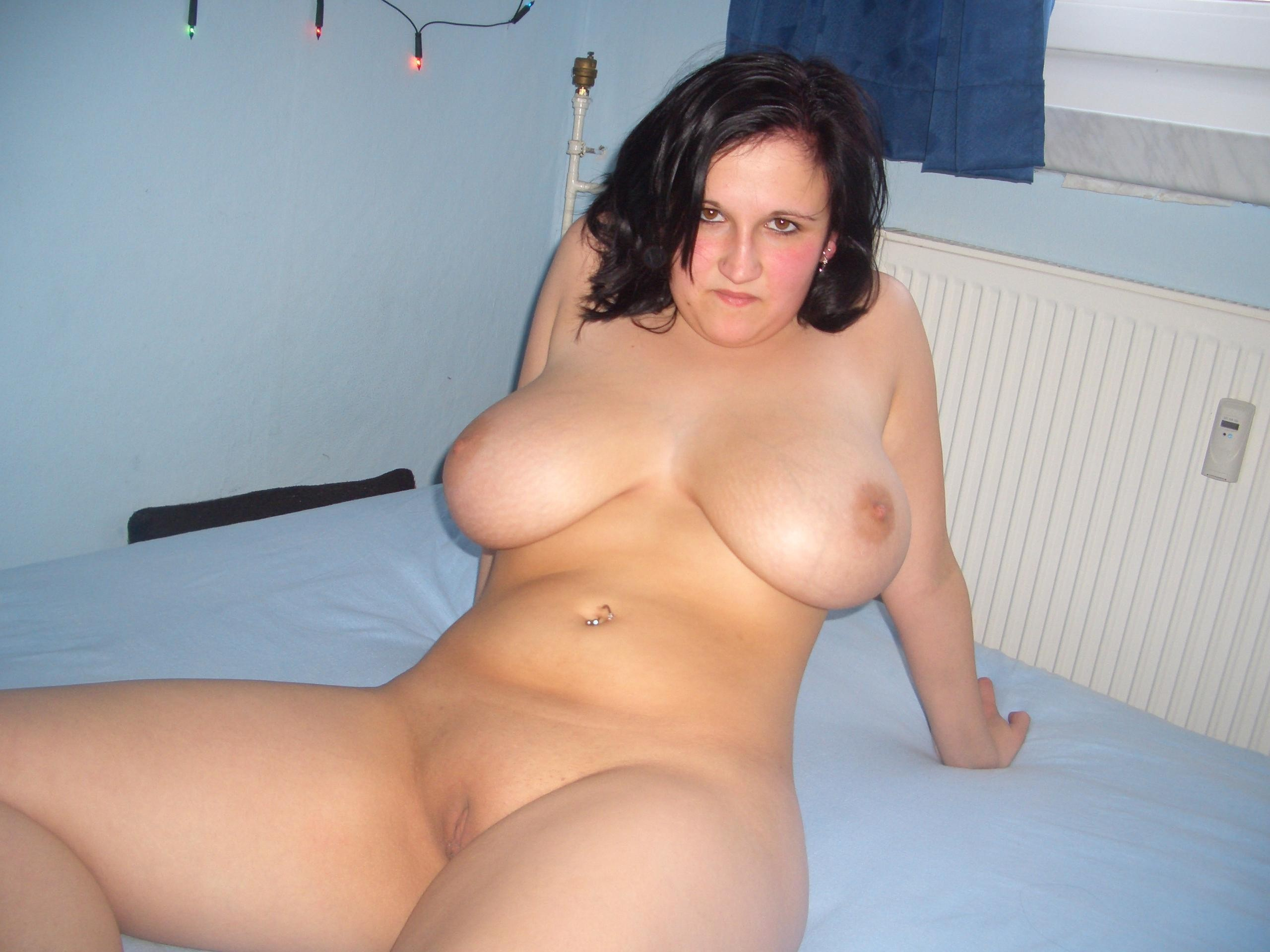 image Chubby brunette gb in hotel
