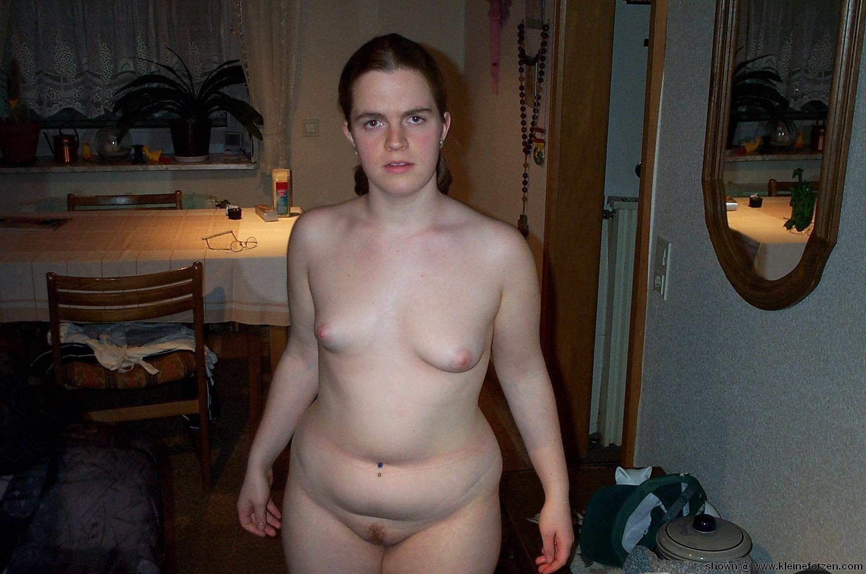 Naked selfies of chubby females