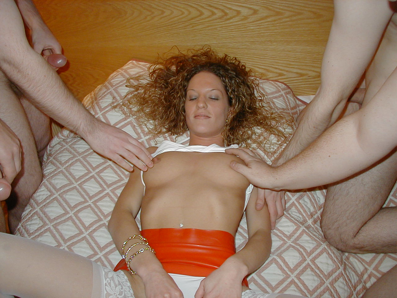 Fucking my married milf while her husband watches 6