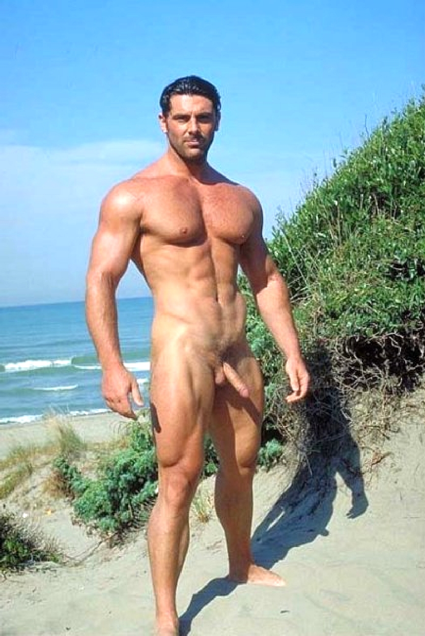Nude Men In The Beach