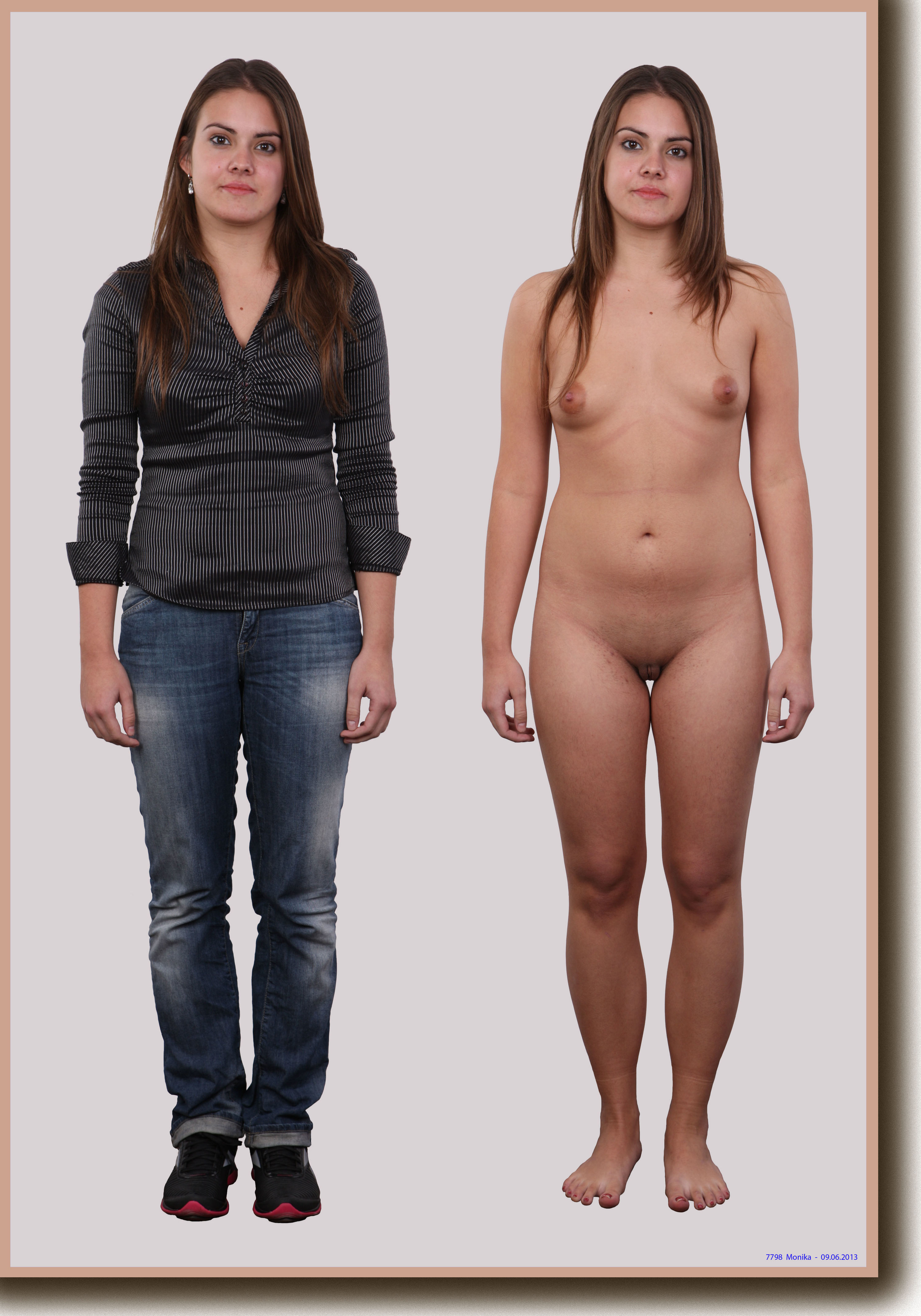 girls on Amateur and off clothes
