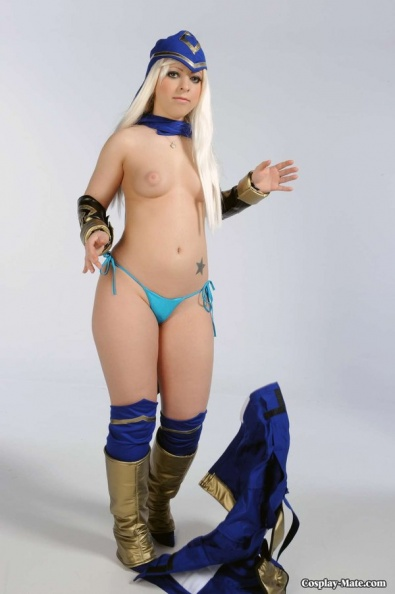 Lol Nude Ashe Cosplay