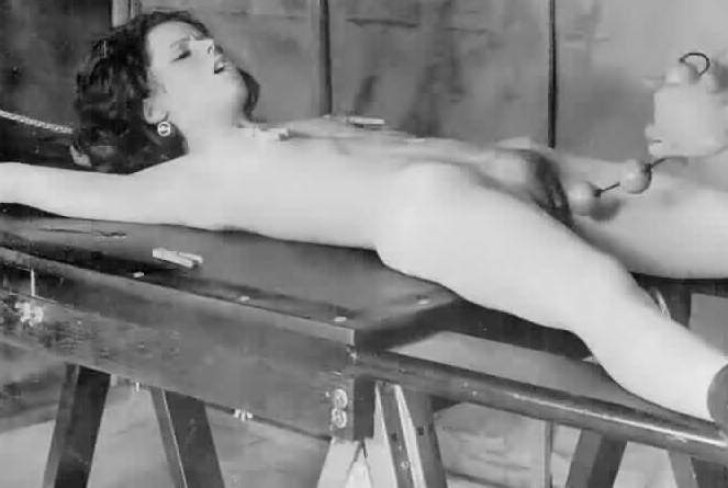 Stretched rack on woman torture naked a
