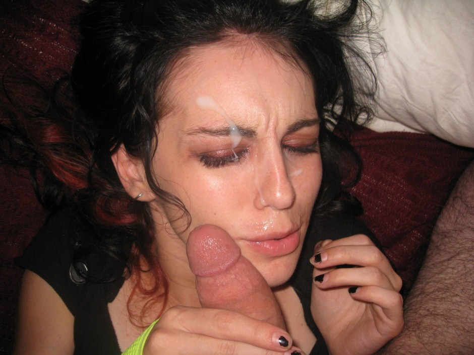 She loves cum on her face remarkable, rather