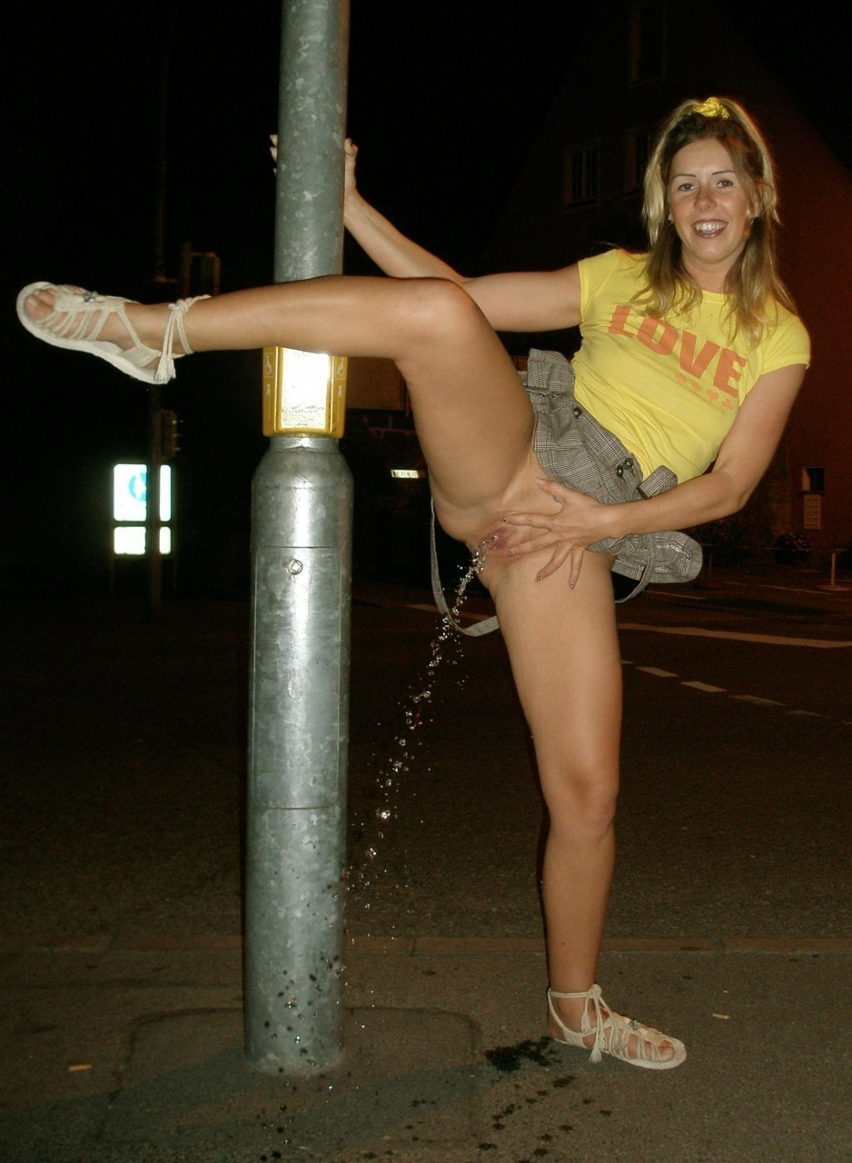 Girls who love to piss
