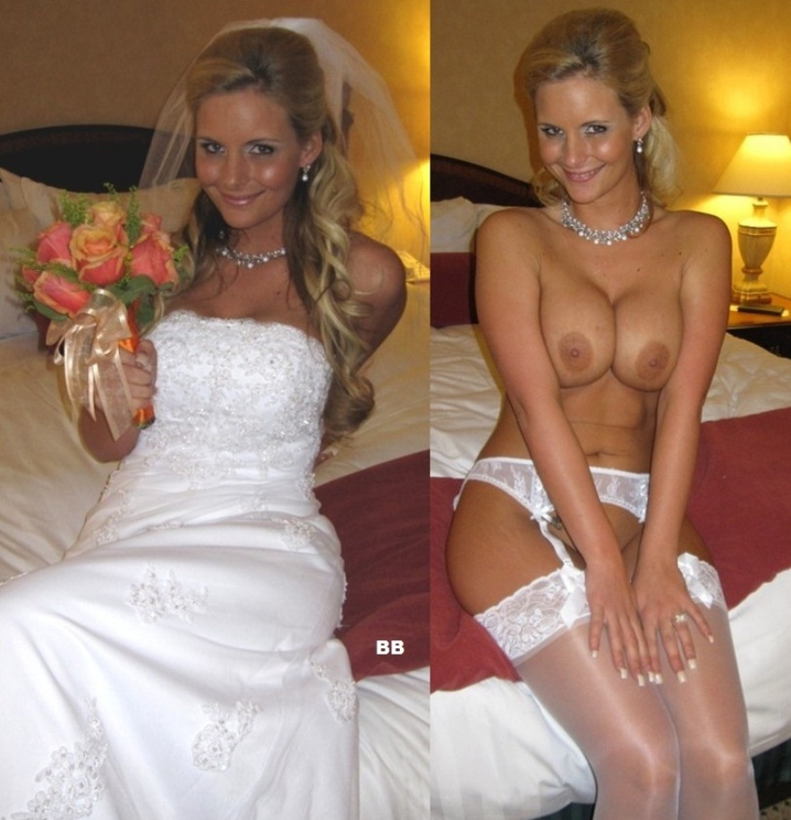 Naked girls wedding night