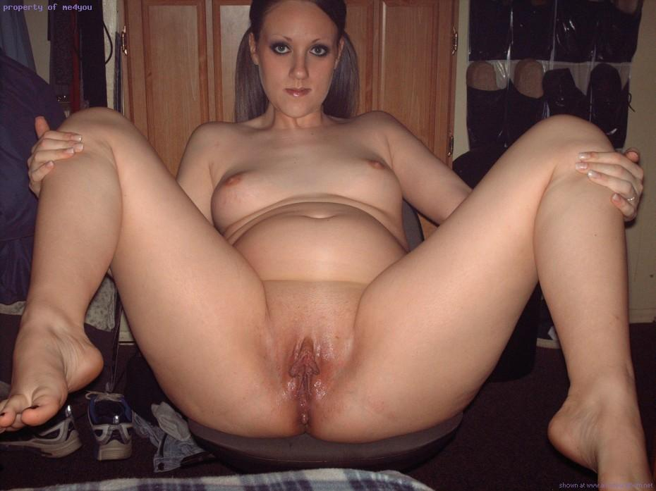 Wife Spread wide open - A Pussy Spread Wide Open and Ready ...
