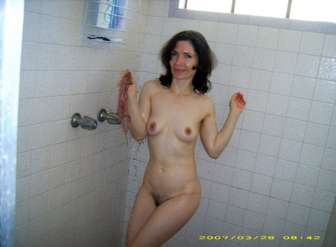 Are Tits hairy pussy shower group