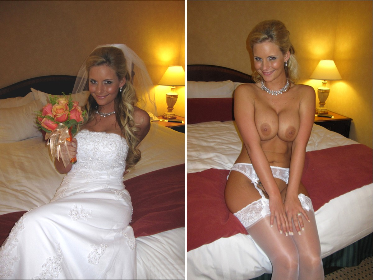 Nude pics of wedding night does