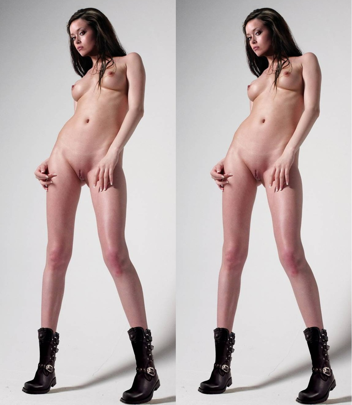 Stereoscopic girl nude 6