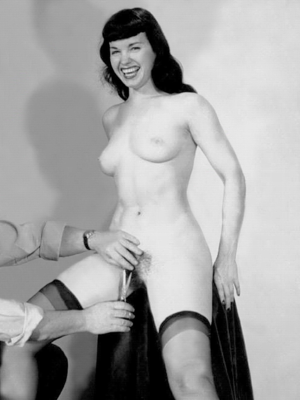 page nude bettie Vintage