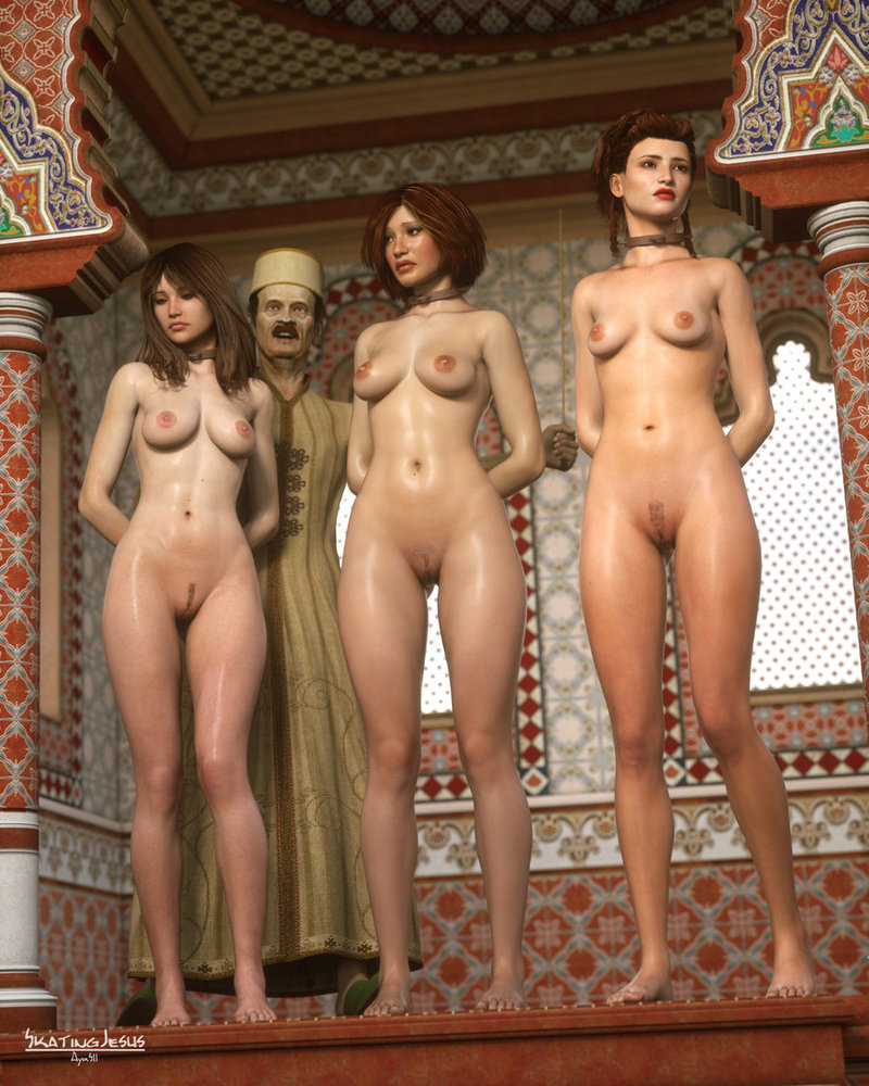 Slave auction naked