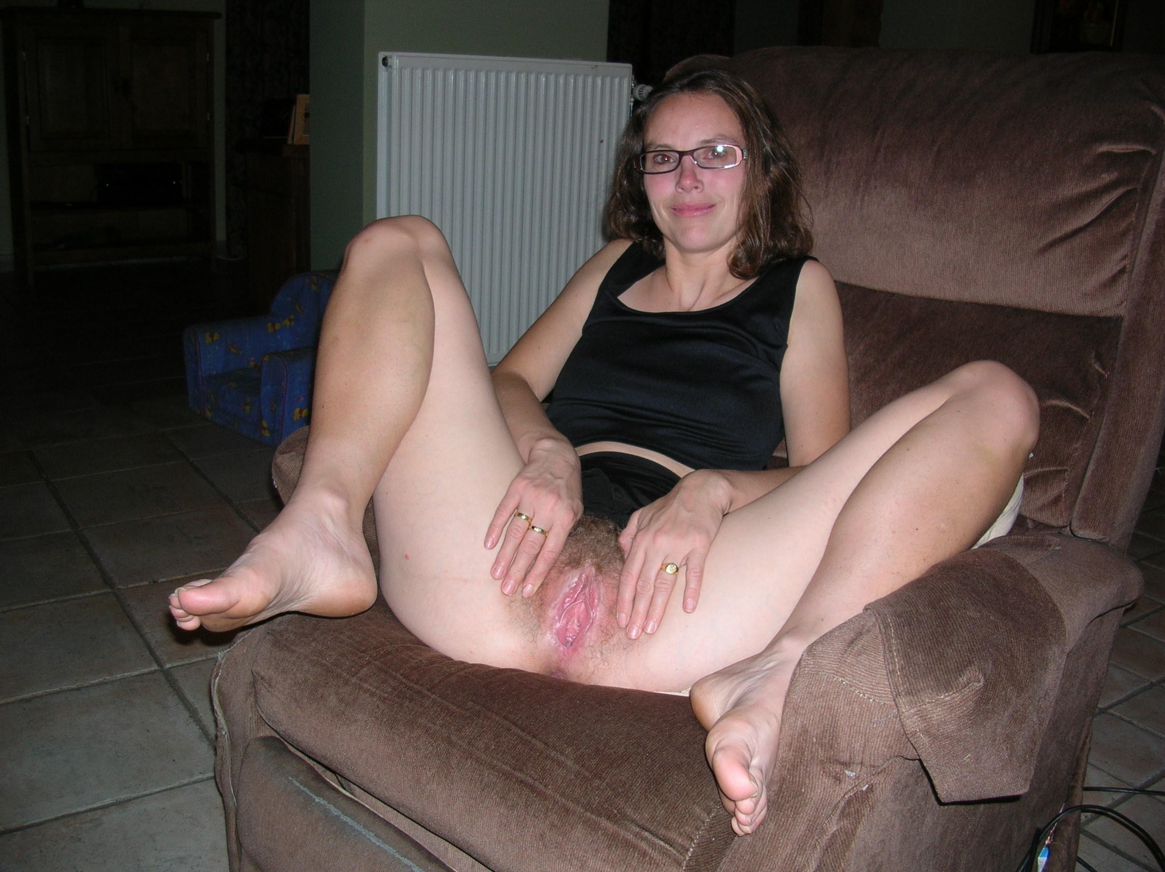 Pussy speculum stretched