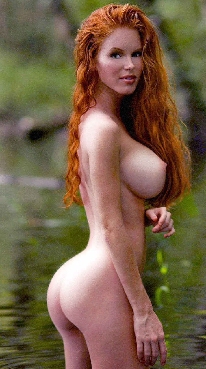 huge boobs redhead