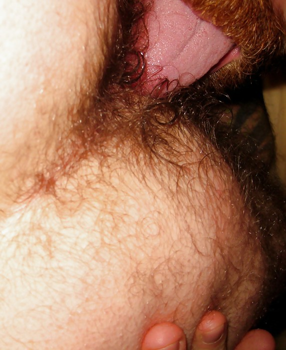 Hairy gay rimming