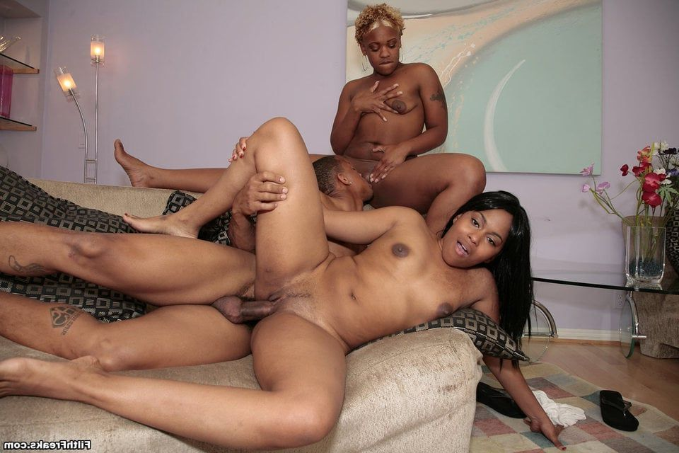 Black mother daughter fuck