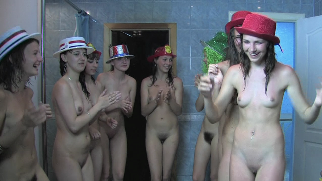 Cum nudist sauna video geile