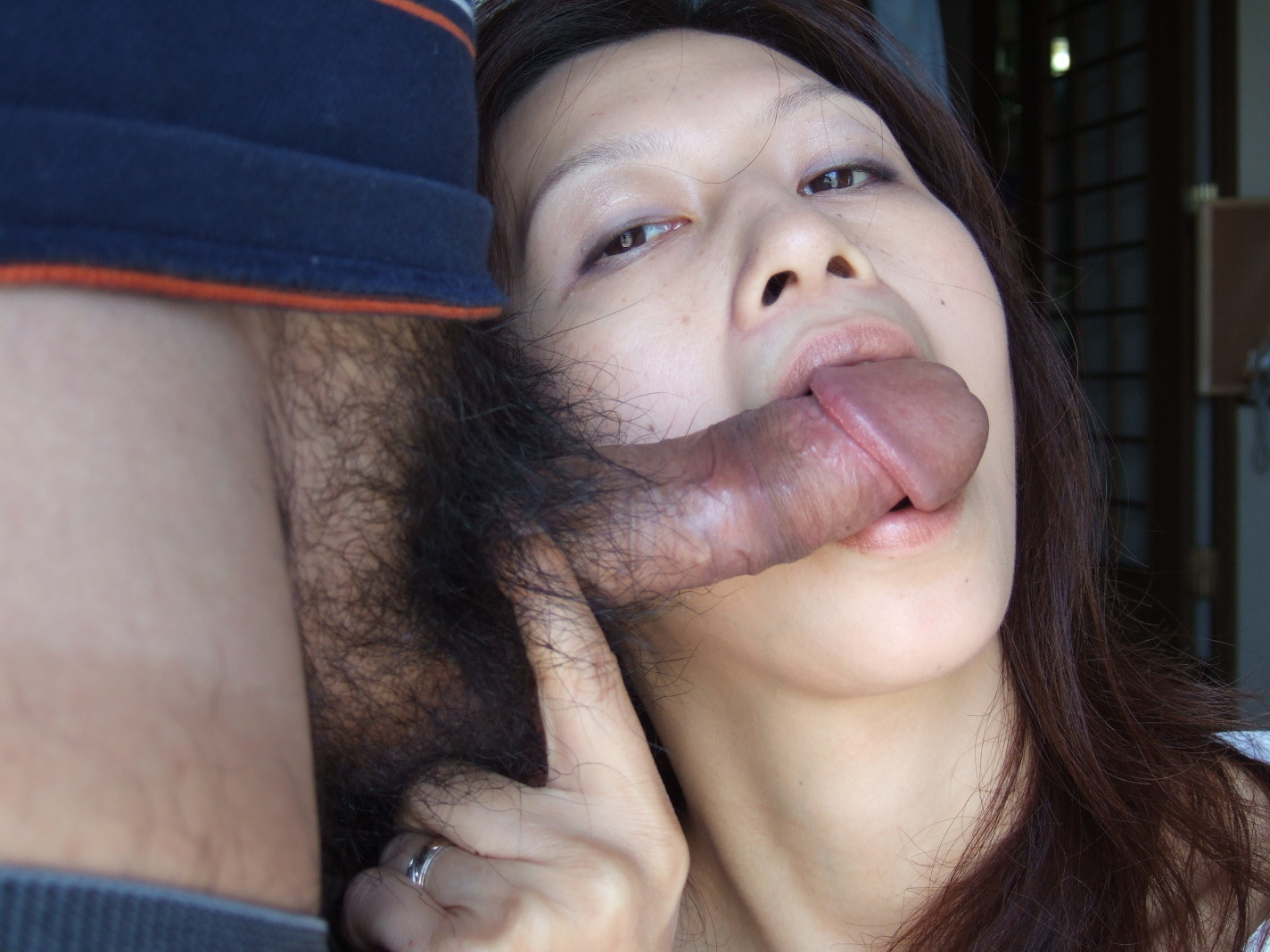 housewife asian big - Tiny Tits Big Hole Japanese MILF