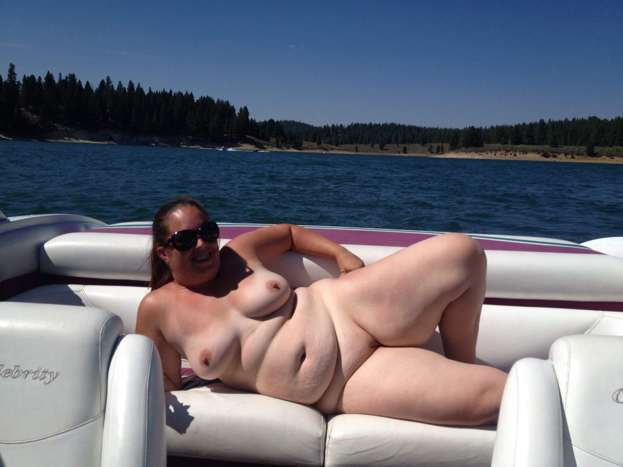 On boats girls nude