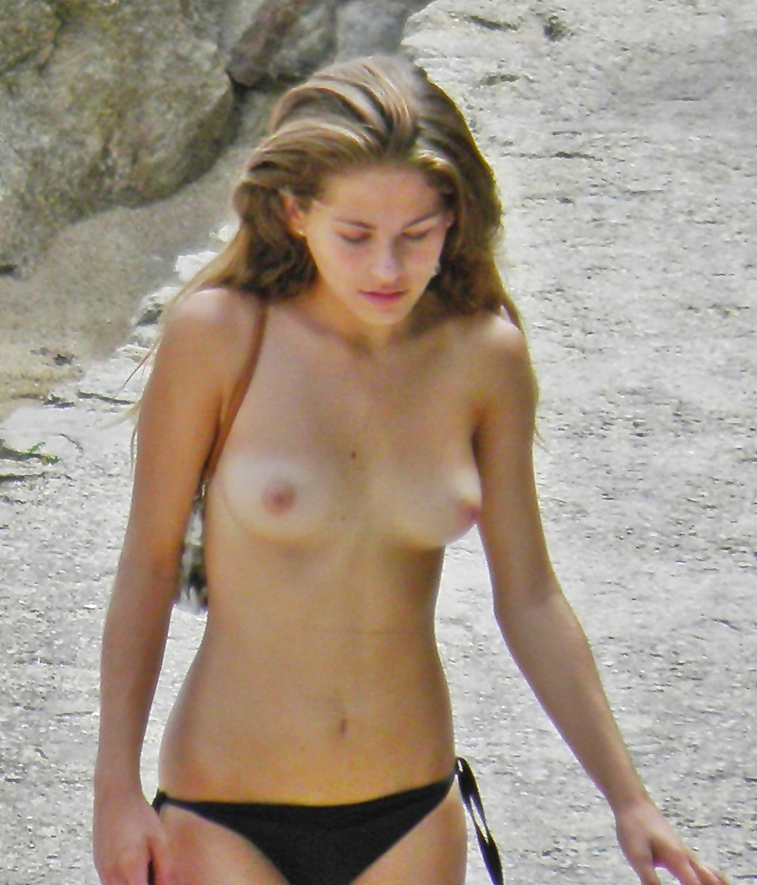 Hot sexy girls topless naked